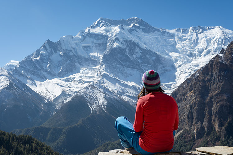 Mindfulness in the lap of Himalaya